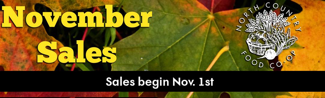 November Sales