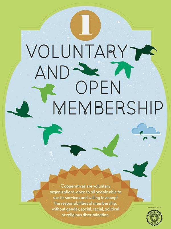 Voluntary and Open Membership