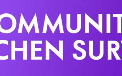 Community Kitchen Survery